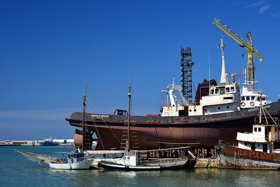 impianti aspirazione cantieri navali